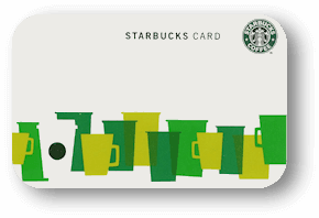 $10 Starbucks Card