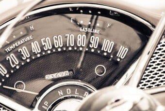 1957 Chevrolet Dashboard
