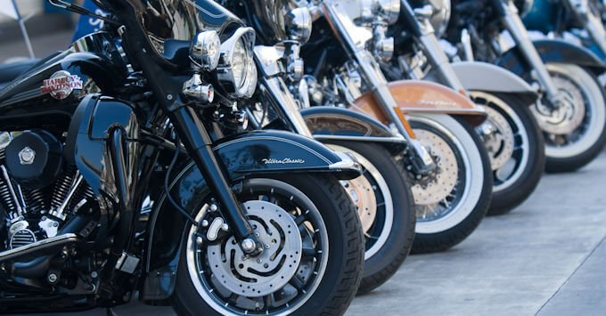 Live of Harley Davidson Motorcycles